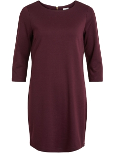 Vila Jurk VITINNY NEW DRESS-NOOS 14033863 Winetasting