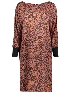 Saint Tropez Jurk T6005 ANIMAL DRESS 6241 C.BROWN