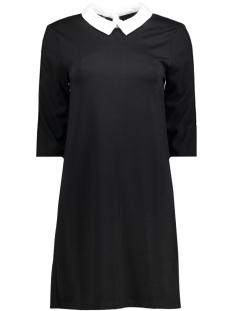 Only Jurk onlSELMA 3/4 COLLAR DRESS JRS 15161456 Black/SOLID
