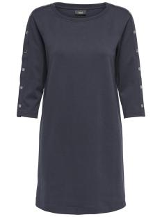 Only Jurk onlHARLEY 3/4 SLEEVE O-NECK DRESS S 15162030 Night Sky