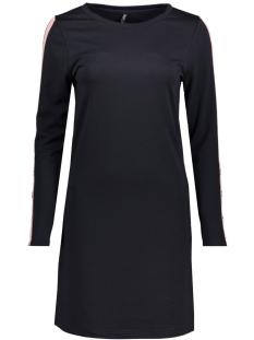 Only Jurk onlBRILLIANT SANA L/S DRESS JRS 15161447 Night Sky/MISTY ROSE