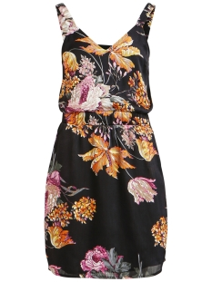 Object Jurk OBJTROPI S/L DRESS APB 23029052 Black/TROPICAL A