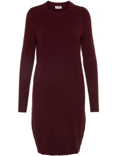 Noisy may Jurk NMGINA L/S KNIT DRESS CLR 27003144 Port Royale