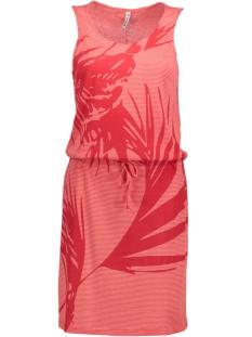 Zoso Jurk KONTIKI DRESS RED/WHITE