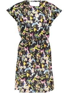 Vero Moda Jurk VMLILY-ROSE S/S SHORT DRESS VIP 10208182 Black/TANNA