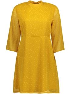 Jacqueline de Yong Jurk JDYELLY 3/4 DRESS WVN 15158776 Golden Spice/CLOUD DANCE