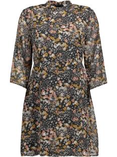 Jacqueline de Yong Jurk JDYELLY 3/4 DRESS WVN 15158776 Night Sky/MULTICOLOR