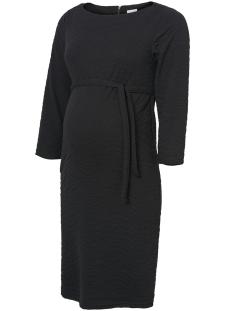 Mama-Licious Positie jurk MLDAHLIA 3/4 JERSEY ABK. DRESS A. 20008930 Black