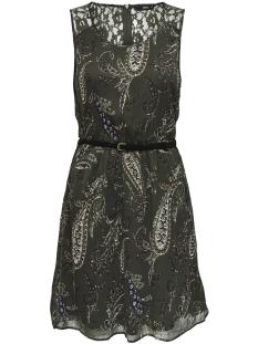Only Jurk onlISABELLE LIA LACE S/L DRESS WVN 15163392 Tarmac/PAISLEY