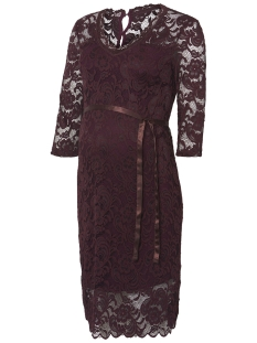Mama-Licious Positie jurk MLMIVANA 3/4 JERSEY 20007260 Winetasting