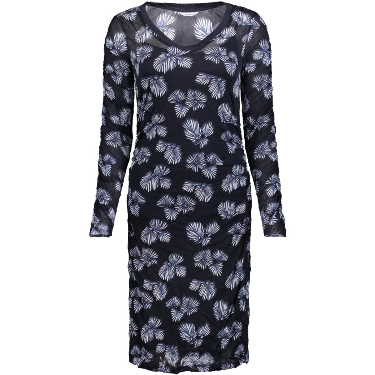 jurk met print 23001448 sandwich jurk 41045