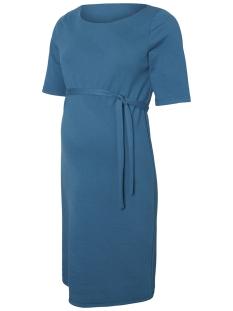 Mama-Licious Positie jurk MLTARA 2/4 JERSEY ABK DRESS 20008865 Lyons Blue