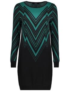 Vero Moda Jurk VMZIGGA LS O-NECK DRESS 10207669 Black/W.ALPINE