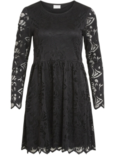 Vila Jurk VISTASIA L/S LACE DRESS-NOOS 14047891 Black