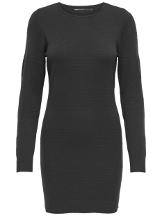 Only Jurk onlBRENDA L/S DRESS CC KNT 15159017 Black