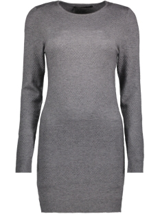 Only Jurk onlBRENDA L/S DRESS CC KNT 15159017 Medium Grey Melange