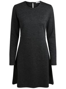 pcwonder ls dress noos 17090232 pieces jurk dark grey melange