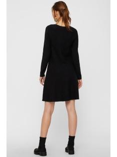 vmnancy ls knit dress noos 10206027 vero moda jurk black