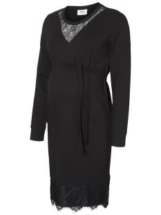 Mama-Licious Positie jurk MLMONICA L/S JERSEY ABK DRESS A. 20009015 Black
