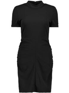 Jacqueline de Yong Jurk JDYLAUREN S/S HIGHNECK DRESS JRS 15161157 Black