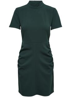 Jacqueline de Yong Jurk JDYLAUREN S/S HIGHNECK DRESS JRS 15161157 Ponderosa Pine