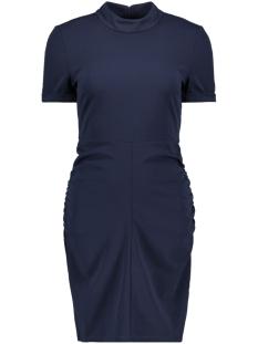 Jacqueline de Yong Jurk JDYLAUREN S/S HIGHNECK DRESS JRS 15161157 Night Sky