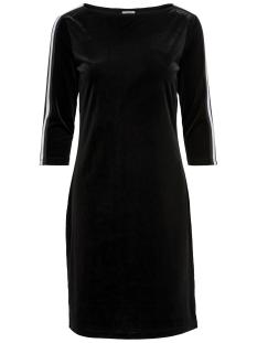 Jacqueline de Yong Jurk JDYLEO 3/4 BOATNECK DRESS JRS EXP 15166338 Black/BLACK WHITE