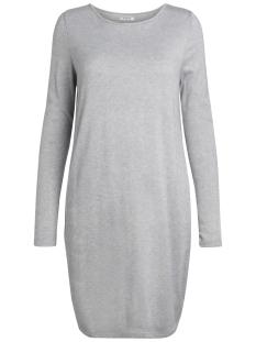 Pieces Jurk PCFIGAS LS DRESS 17090333 Light Grey Melange