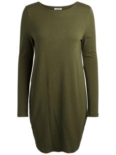 Pieces Jurk PCFIGAS LS DRESS 17090333 Winter Moss