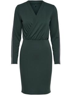 Only Jurk onlBRILLIANT SIV L/S DRESS JRS 15164115 Green Gables/TAPE AS SA