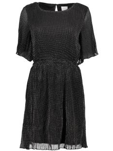 Vila Jurk VIFRYD 2/4 DRESS 14049030 Black Print:W . SILVER