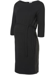 Mama-Licious Positie jurk MLTINE BLACKIE PANEL3/4 JERSEY ABK 20009741 Black