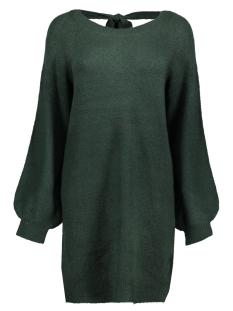 Only Jurk onlMIRAMAR L/S DEEP BACK DRESS KNT 15161290 Green Gables
