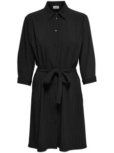 Jacqueline de Yong Jurk JDYFAITH 3/4 SHIRT DRESS WVN 15164906 Black