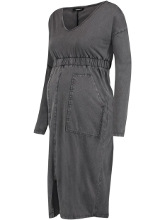 SuperMom Positie jurk S0856 DRESS IS GREY ACID C244 DARK GREY