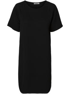 Pieces Jurk PCGAIL 2/4 SLEEVE NEW DRESS CAMP 17091985 Black