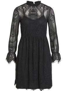 vikarla l/s dress 14048863 vila jurk black