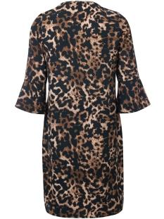 nila dayz jurk animal brown multi