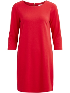 Vila Jurk VITINNY NEW DRESS-FAV 14043495 Racing Red