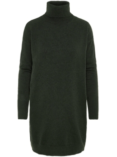 Vero Moda Jurk VMBRILLIANT LS ROLLNECK DRESS COLOR 10202858 Peat