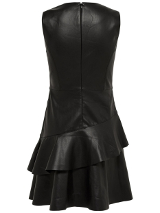 onlemma s/l faux leather dress otw 15143882 only jurk black