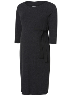 Mama-Licious Positie jurk MLNANJA 3/4 JERSEY ABK DRESS 20009088 Dark Grey Melange
