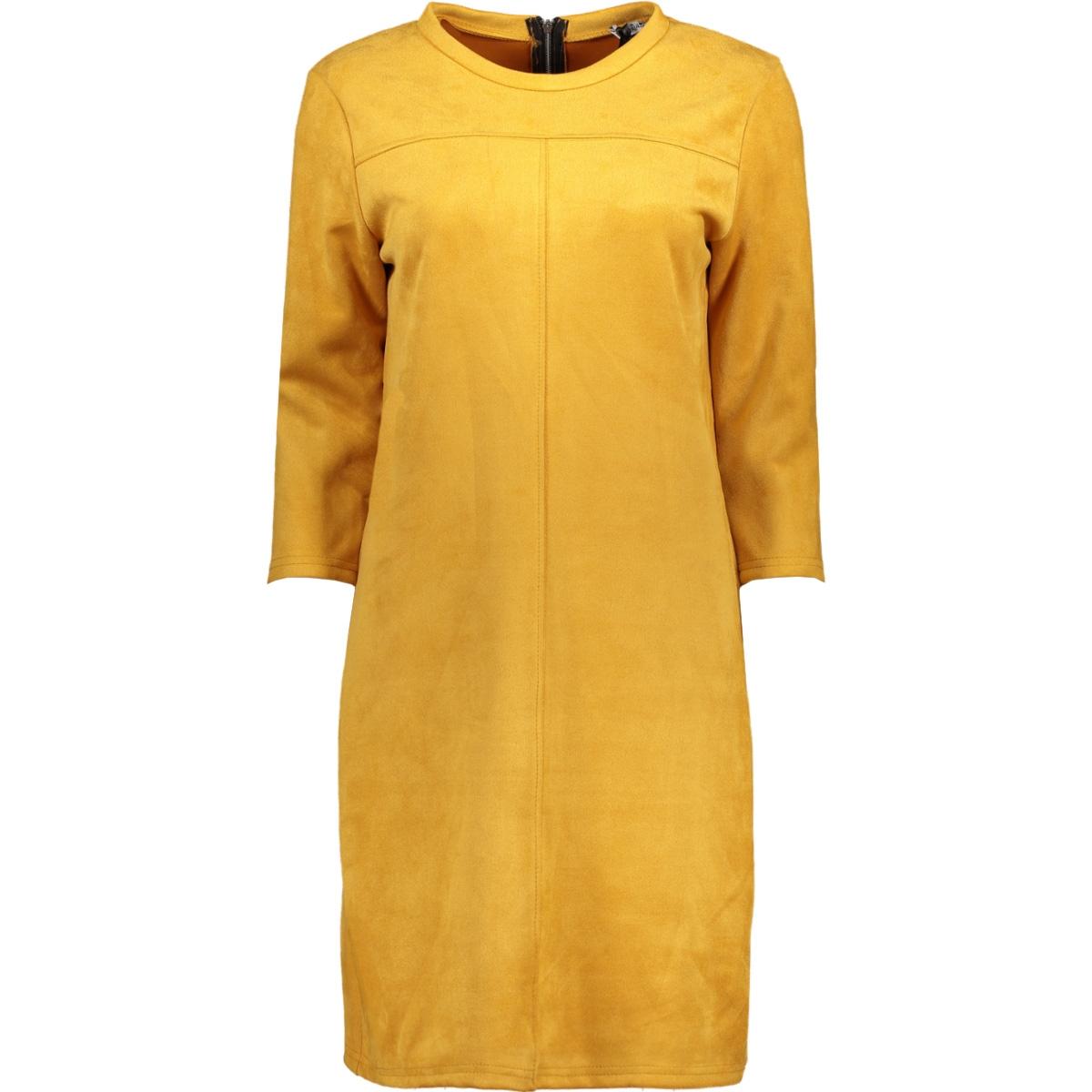 8353 britty dress luba jurk oker