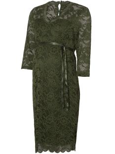 Mama-Licious Positie jurk MLMIVANA 3/4 JERSEY DRESS 20007260 Thyme