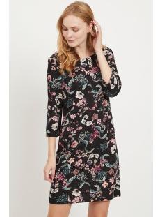 vitinny new dress - lux 14043921 vila jurk black/tokama