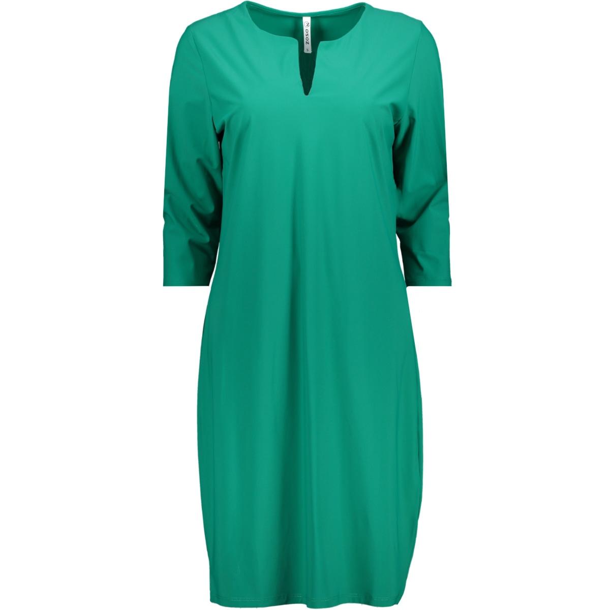 manon travel dress zoso jurk green