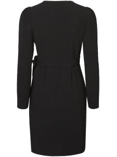 vmfinula l/s abk wrap dress d2-8 10207116 vero moda jurk black