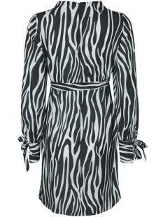 mlpricilla l/s woven dress n 20009306 mama-licious positie jurk scarab/gray dawn