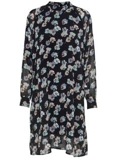Jacqueline de Yong Jurk JDYHANNA L/S DRESS WVN 15165908 Black/GREY FLOWER