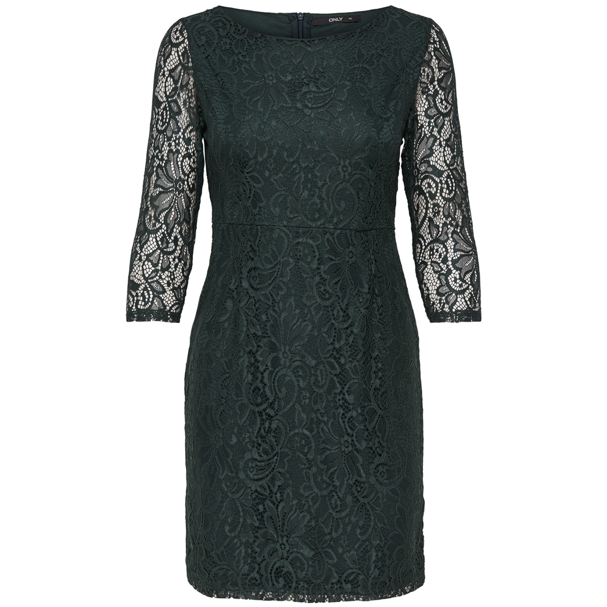 onlsanta cruz mid dress wvn 15166331 only jurk green gables